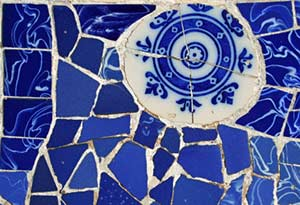 Blue Tile Decor, Barcelona